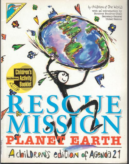 Rescue Mission - Childrens book - front cover